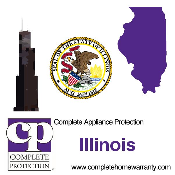 Illinois Home Warranty - Complete Appliance Protection Home Warranty - Best Home Warranty Reviews - Illinois Home Warranty - 1-800-978-2022