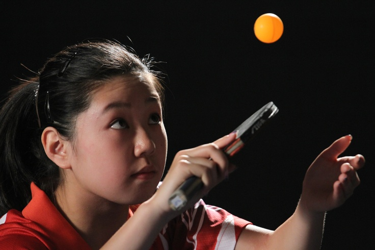 Lily Zhang, 15-year-old table tennis phenom