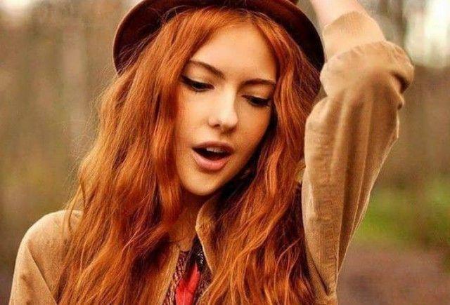Как сделать натуральный рыжий краситель для волос? 0