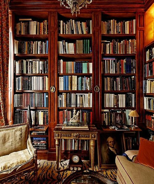 The old fashioned - yet must have - library.