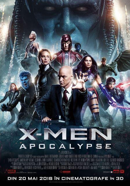 X-Men:+Apocalypse+–+noua+generatie+de+supereroi