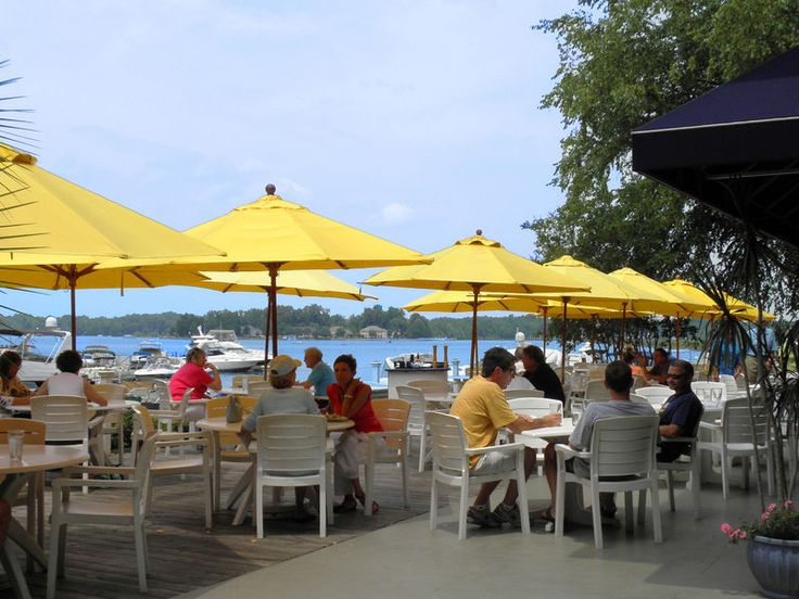 North Habor Club Lake Norman, Great food and views!