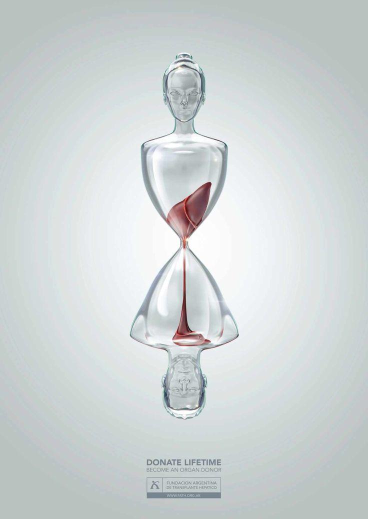 Плакаты аргентинской социальной рекламы о донорстве органов.