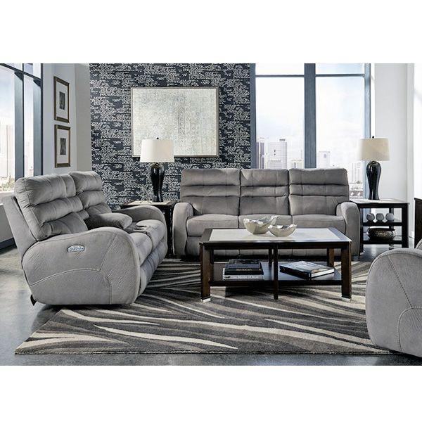 Silver Dollar Power Recline Sofa. Living Room ...