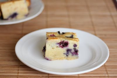 Blueberry Mochi Cake | Kirbie's Cravings | A San Diego food blog