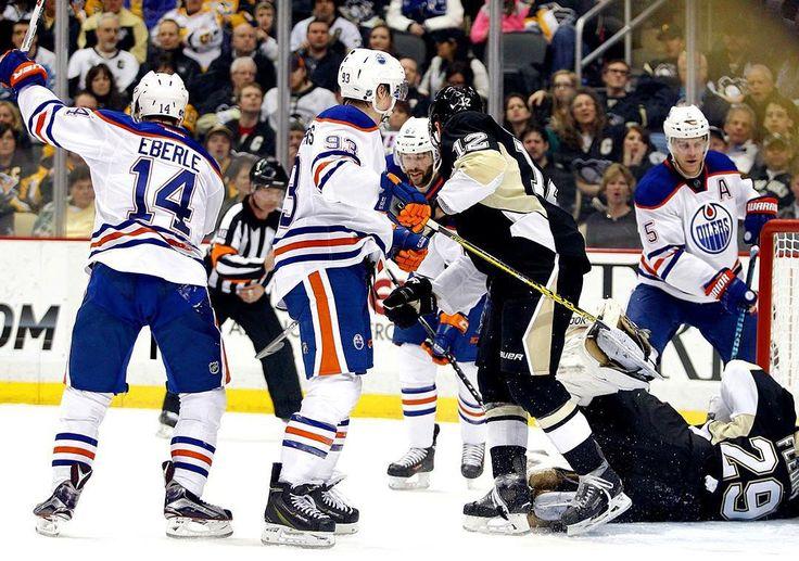 "edmontonoilers: ""GAME DAY!  #Oilers visit Pittsburgh as Justin Schultz returns and Jujhar Khaira debuts. #EDMvsPIT"""