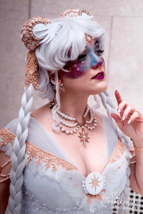 Sailor Cosmos Attends A Masquerade Ball