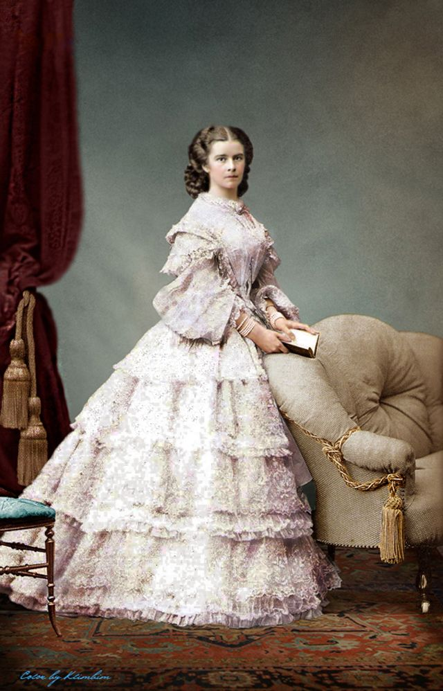 colorized victorian portraits 8 | Victorian fashion women ...