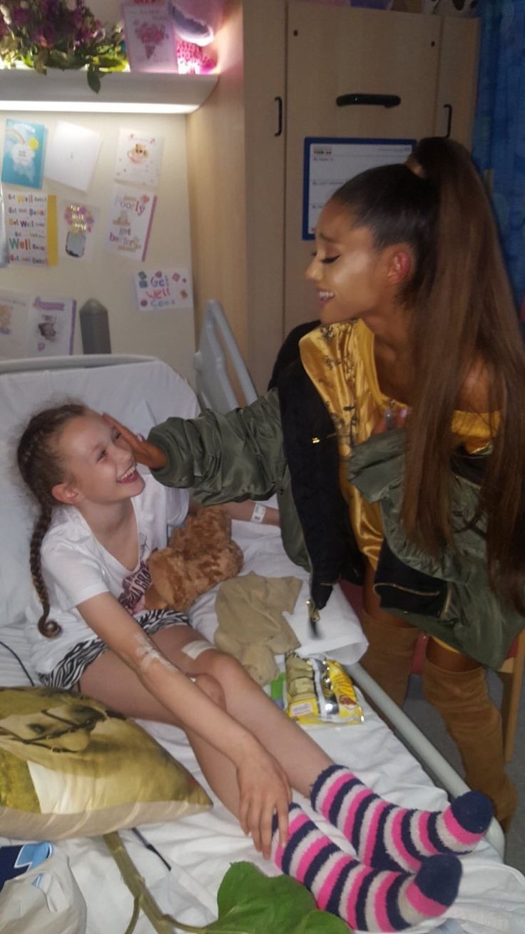 She is such a kind, humble, caring 22-year-old woman who has gone through more than what most of us go through in our lifetime, and handled every second of it with grace and love. So much respect Ariana