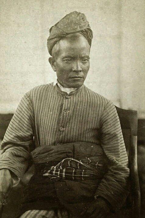 Penghoeloe kepala van Alahanpandjang. Minangkabau - Solok. 1877-1879