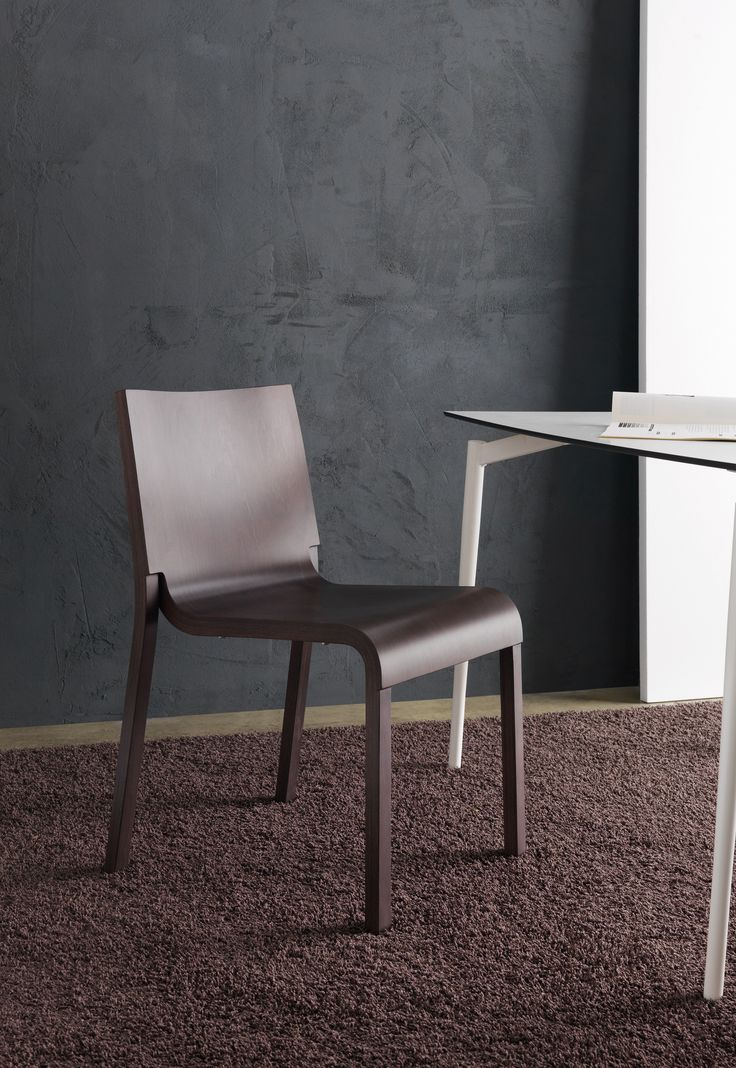 A wooden chair for your cozy Autumn inspiration: Bliss, by Bartoli Design. Take a look, get inspired and click here for further information: http://www.segis.it/en/products/Bliss/
