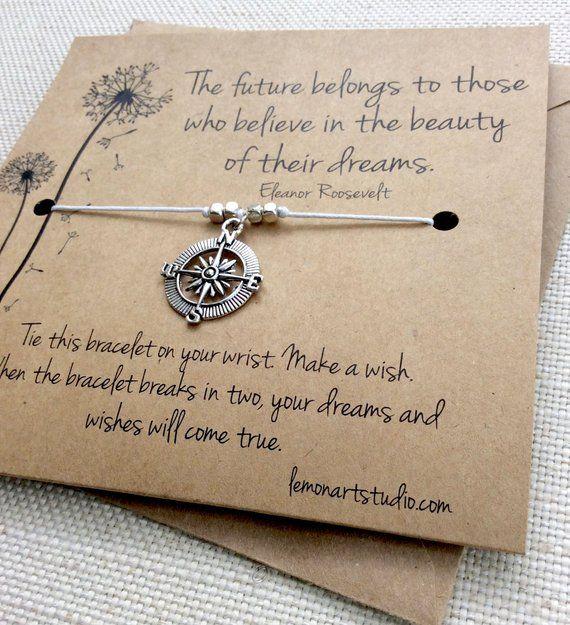 Graduation Wish Bracelet.Star Wish Bracelet.Graduation Gift.Wish Bracelets.Graduate Gift.Bracelet.Charm Bracelet.Gift
