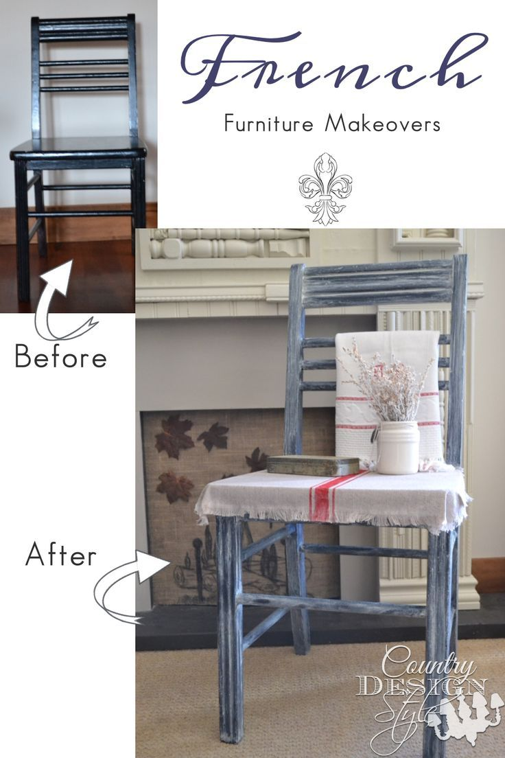 Do you adore French Country Farmhouse style? You will love these furniture makeovers. Country Design Style. www.countrydesignstyle.com