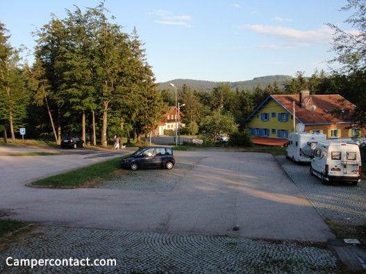 Motorhome parking Le Bonhomme (Parking Col du Bonhomme)   Campercontact