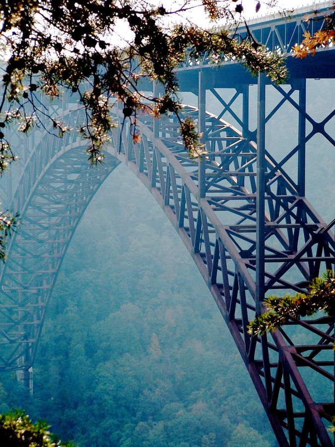 The New River Gorge Bridge in West Virginia, USA.  Rafted the Lower New River for several years.  LOVE it.