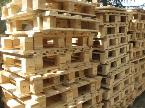 Palety przemysłowe, drewniane palety- różne rozmiary Luboń - image 1