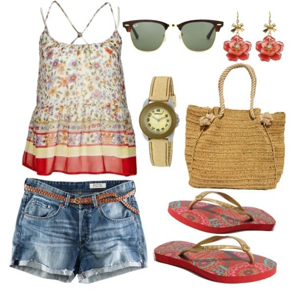 """""""Hermosa Beach"""" by mobaby22 on Polyvore"""