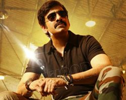 Ravi Teja busy on High voltage action