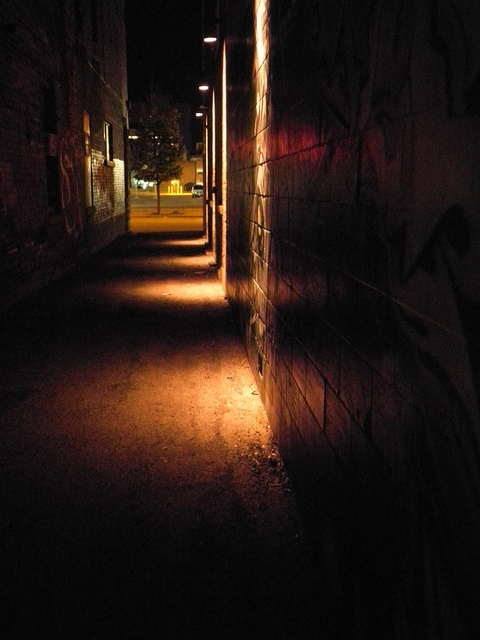 a path, an alley.
