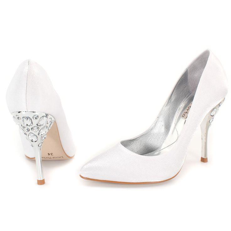 Scarpin Laura Porto SP9290 Shoe – Frete Grátis e Troca – Branco   – La boda