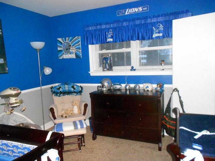 Detroit Lions Nursery Detroit Lions Baby Pinterest