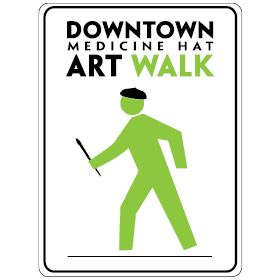 Downtown Medicine Hat Art Walk on May 2, 2014