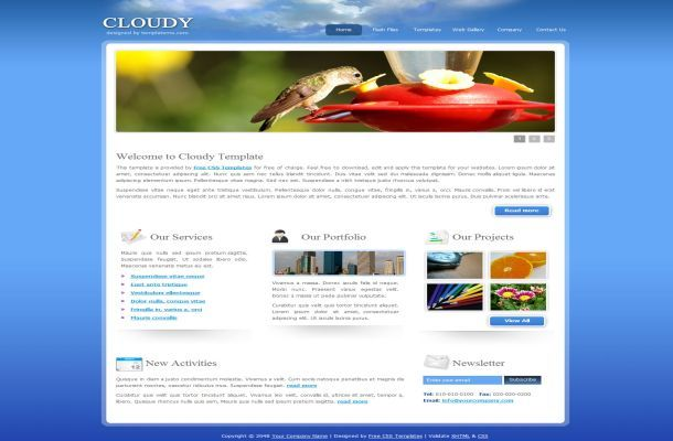 4 Free Download Templates For Websites In Html
