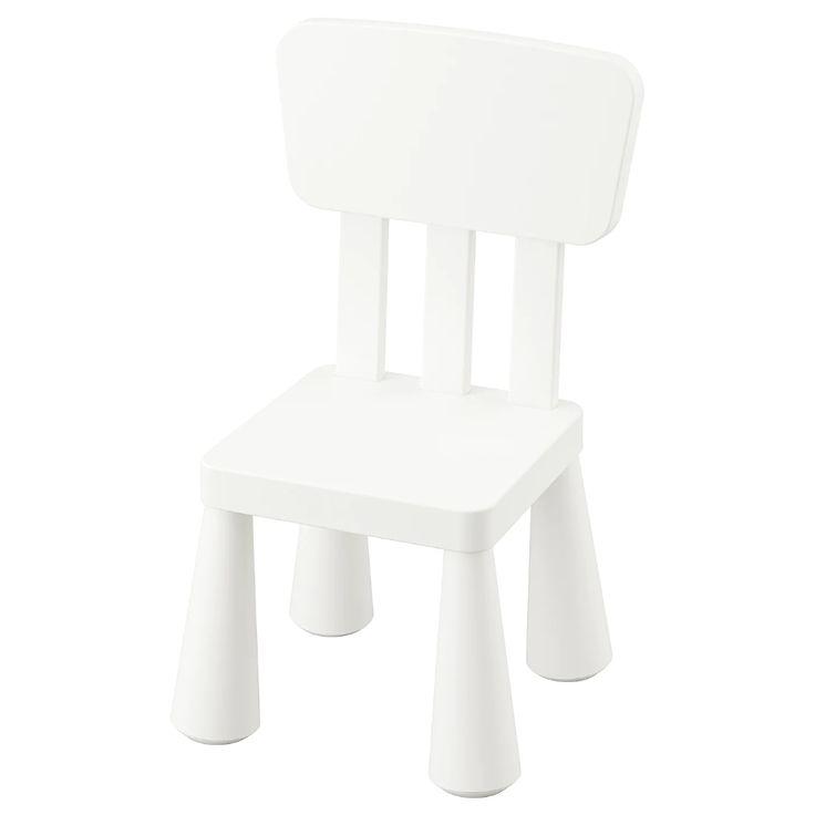Mammut Children S Chair Indoor Outdoor White In 2020