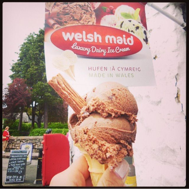 There S Always Room For Ice Cream Chocolate Basket: 37 Best Images About Welsh Maid Luxury Dairy Ice Cream On