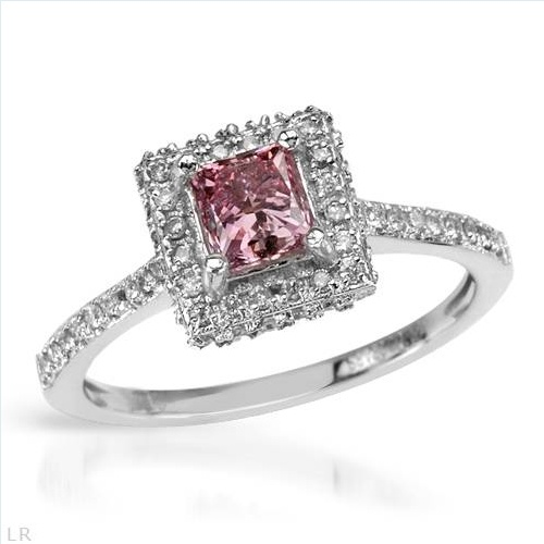$1,419.00  Spectacular Brand New Ring With 1.10ctw Precious Stones - Genuine  Clean Diamonds in 14K White Gold- Size 7 We Can Resize from 6 to 8 - Certificate Available.