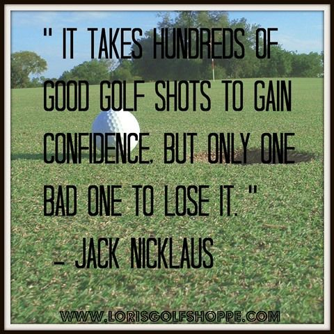 How many times have you lost it?  #golf #golfquotes #jacknicklaus