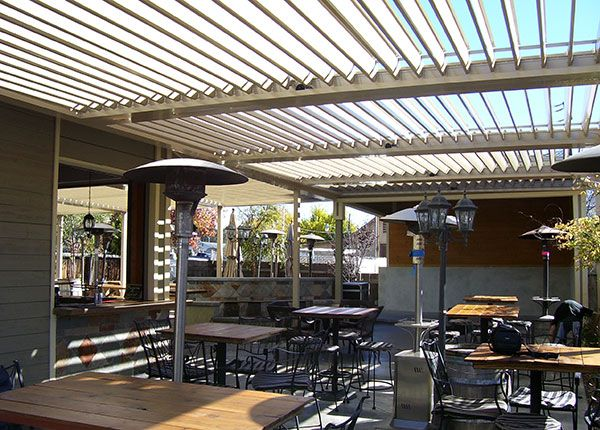 Project Gallery | Design Inspiration | EQUINOX Louvered Roof Systems.  Aluminum Patio CoversRestaurant ...