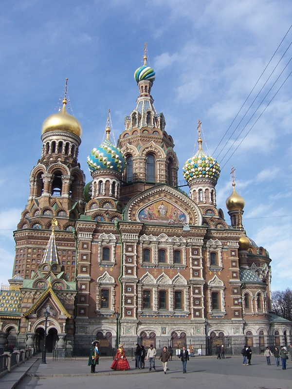 has culture and architecturelike none other... Russia