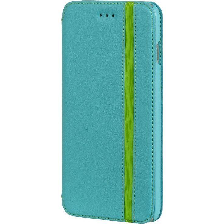 DW Premium Modern Wallet iPhone 6/6S Plus Case - Blue/Green *Sale