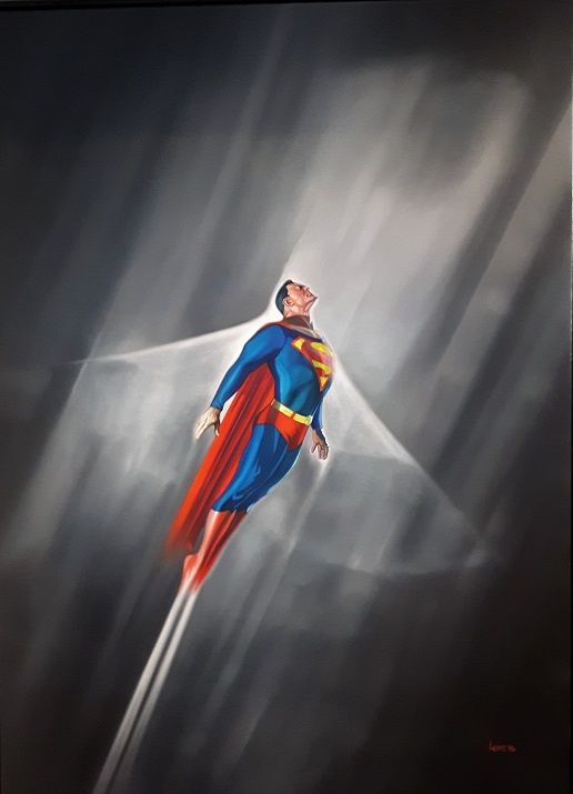 #Superman by Michael Loeb