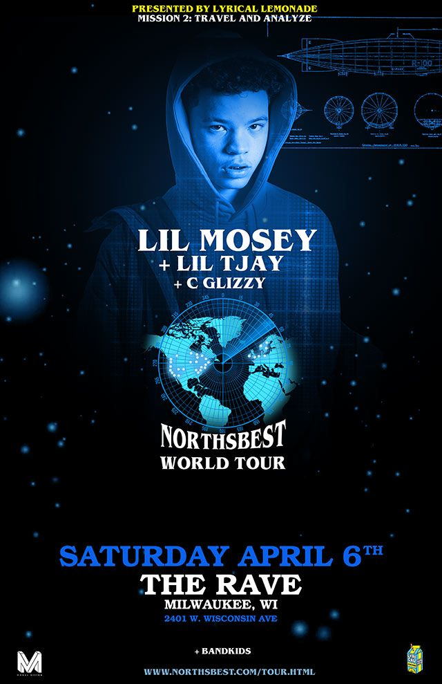 Lyrical Lemonade Presents Lil Mosey Northsbest Tour With Lil