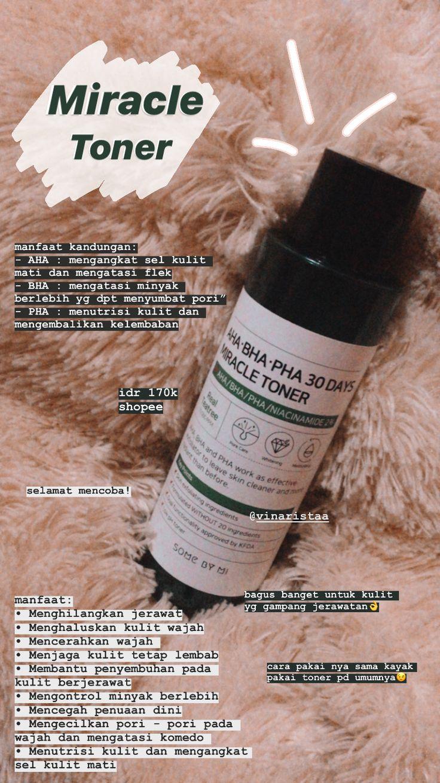 Rekomendasi Toner untuk Kulit Berjerawat in 2020 Skin