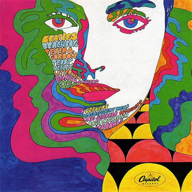 1960s Advertising - Record Cover - Capitol Records (USA)  Artist: John Van Hammersvelp  Art Director: George Osaki