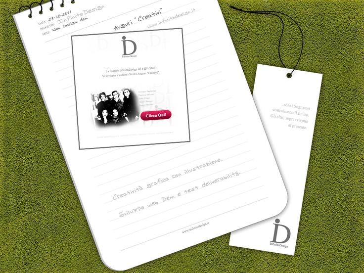 "InfinitoDesign - Auguri ""Creativi""    Online - http://www.infinitodesign.it"