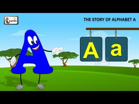 The A Song | Letter A song | Story of letter A | Abc songs |  Learning english alphabet for children
