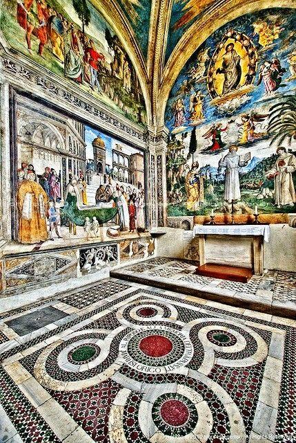 iglesia de santa maria de aracoeli ,Roma Italia.