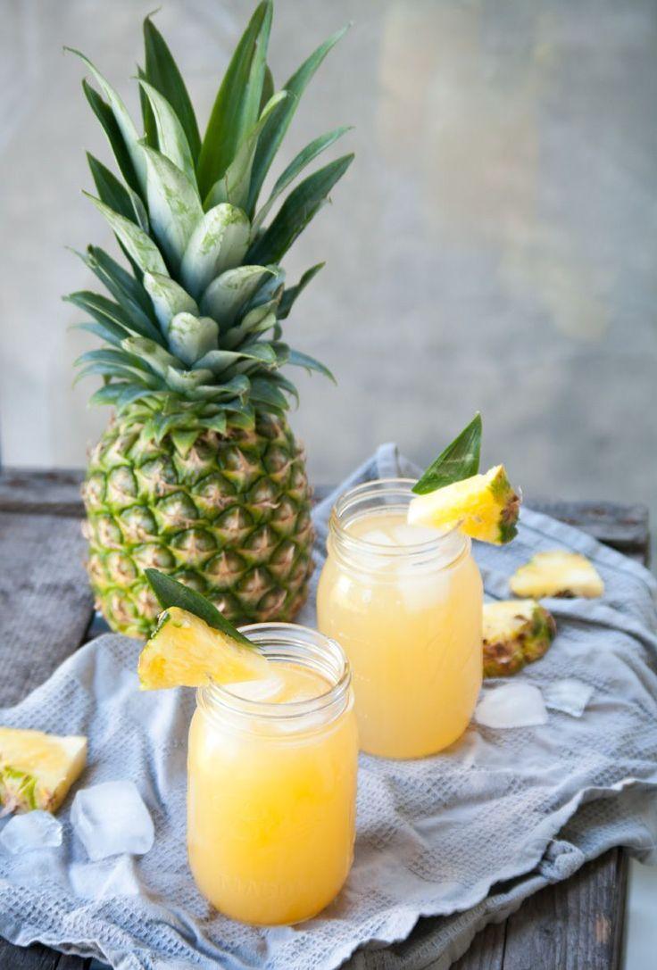 Die perfekte Erfrischung im Sommer: Selbstgemachter Ananas Eistee