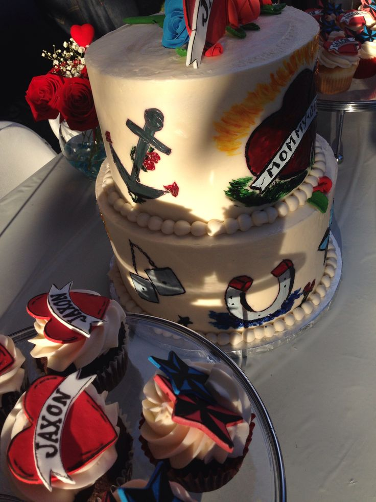 33 best images about rockabilly baby shower on pinterest for How to shower with a new tattoo