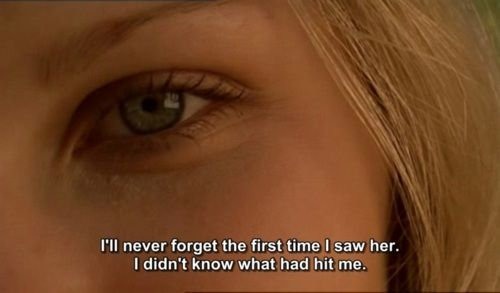 The virgin suicides. But that time has passed. I think you still love me. I can feel it sometimes.