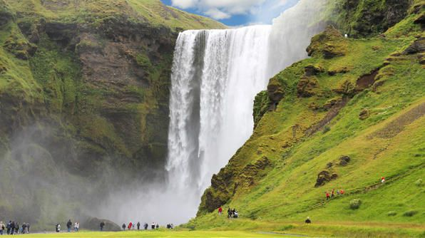 Iceland is the place to be this summer to see incredible displays of nature and to take advantage of the mild weather and the longer days of sunlight.: Bucket List, Iceland, Beautiful Waterfalls, Places I D, Beautiful Place, Visit, Waterfall Wonders, Travel, Photo