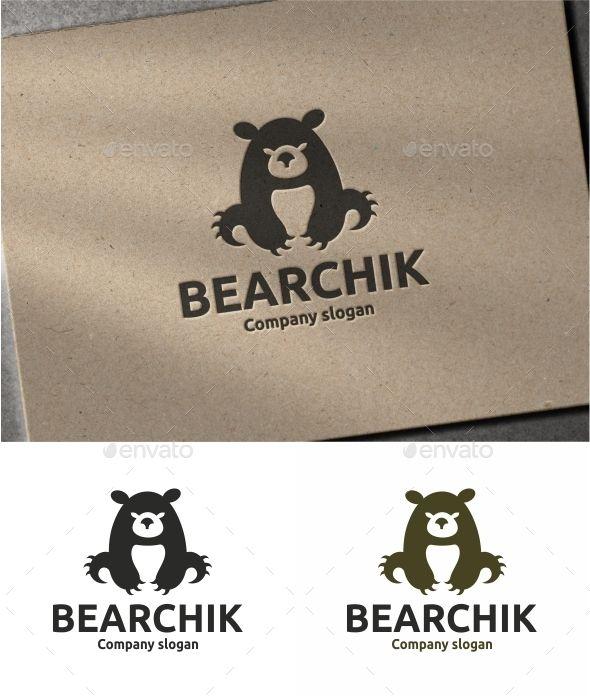 Bear Logo Template #design #logotype Download: http://graphicriver.net/item/bear/12098923?ref=ksioks