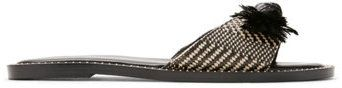 Express raffia bow sandals