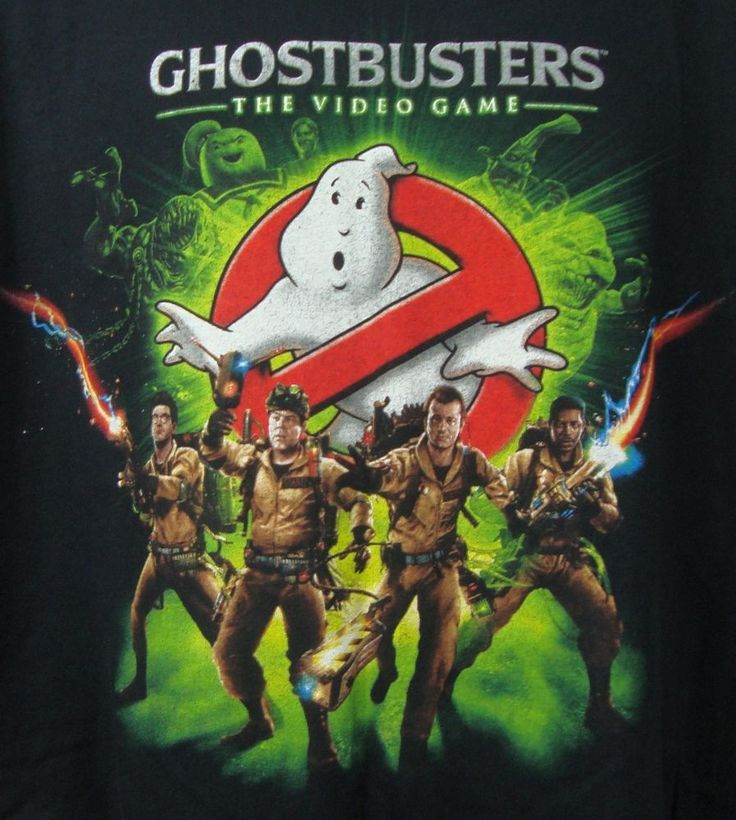 Ghostbusters the Video Game Graphic T-shirt XL Black Gildan 100% Cotton  #Gildan #GraphicTee