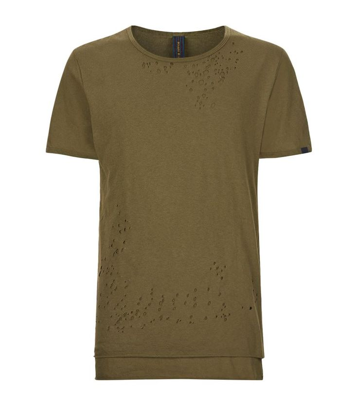 #Miharayasuhiro Double Layer #TShirt, Green. £ 175.00 #mensfashion #malefashion #menswear  http://www.harrods.com/product/double-layer-t-shirt/brand/miharayasuhiro/000000000005285649?cat1=new-men&cat2=new-men-tshirts#