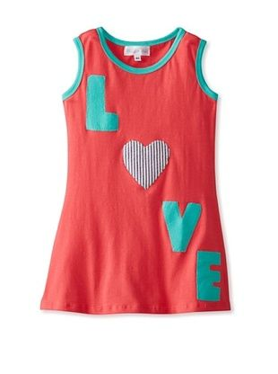67% OFF Tilly & Jax Girl's Madison Tank Dress (Coral)